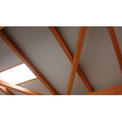 Pannello Coibentato Grecato Alutech Dach Verde Muschio Alubel - 14