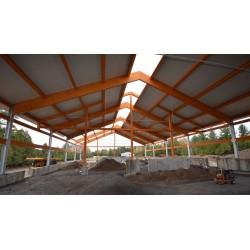 Pannello Coibentato Grecato Declassato Alutech Dach Testa di Moro Alubel - 10