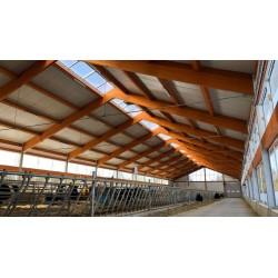 Pannello Coibentato Grecato Declassato Alutech Dach Testa di Moro Alubel - 12
