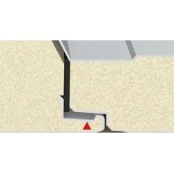 Pannello Coibentato Grecato Declassato Alutech Dach Testa di Moro Alubel - 4