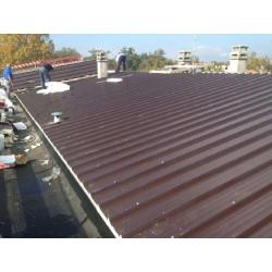 Griechische Isolierung Panel herabgestuft Alutech Dach Moro Kopf Alubel - 7