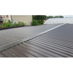 Pannello Coibentato Grecato Declassato Alutech Dach Testa di Moro Alubel - 8