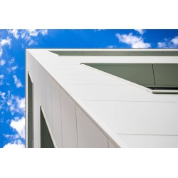 Easy Wand Grau Silber isoliert Panel Alubel - 9