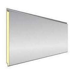 Easy Wand Grau Silber isoliert Panel Alubel - 1