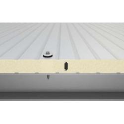 Panel isoliert Herabgestuft Alutech Wand Weiß Grau Alubel - 4