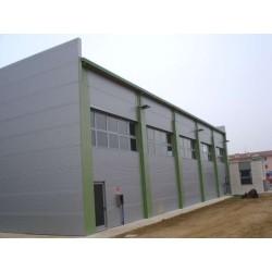 Panel isoliert Herabgestuft Alutech Wand Weiß Grau Alubel - 8